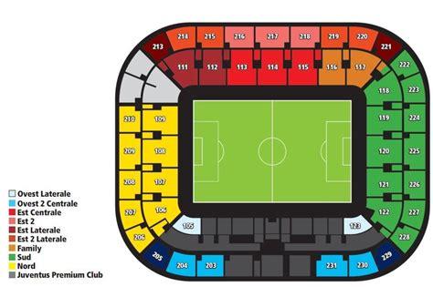 mappa juventus stadium ingressi welcome home la mappatura totale di tutti i posti dello