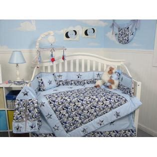 Sears Baby Crib Bedding Sets Soho Designs Blue Camouflage Baby Crib Nursery Bedding Set 14 Pcs Included Bag With