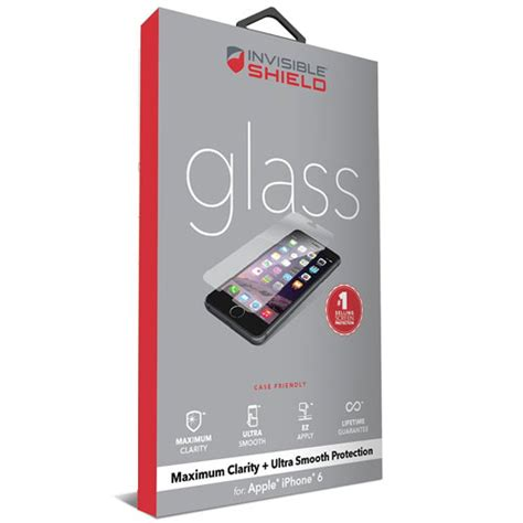 Invisible For Iphone 6 Plus zagg invisible shield 5 5 iphone 6 6s plus smooth glass