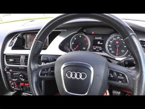 audi a4 2015 interior audi a4 b8 interior review guide 2008 to 2015