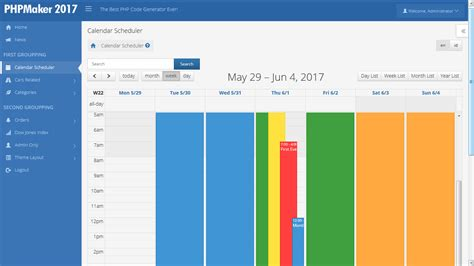 layout design vertical advanced horizontal vertical layout for phpmaker 2017
