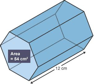 How To Make A Hexagonal Prism Out Of Paper - bitesize national 4 maths geometric skills