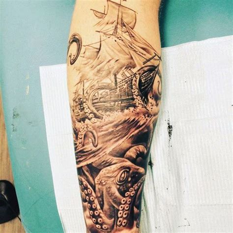 tattoos on calves for men 50 calf tattoos for below the knee