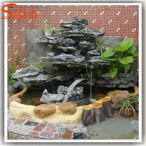 Decorative Waterfalls For Home | home waterfall fountains decorative glass indoor fountain