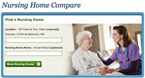 how to choose a nursing home nursing home compare