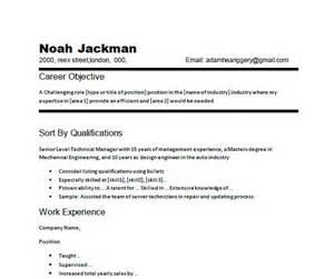 career change resume objective statement exles resume