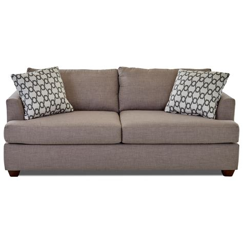 Klaussner Sleeper Sofa Klaussner Dreamquest Sleeper Sofa With Track Arms Olinde S Furniture Sleeper Sofas