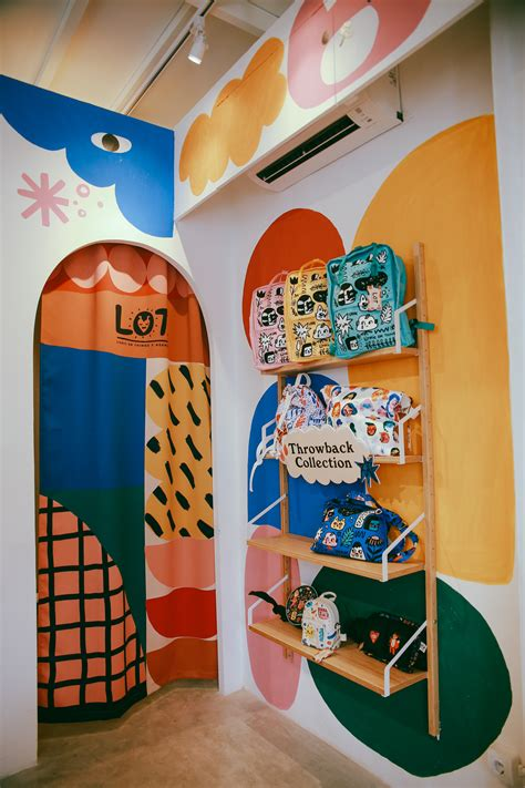 lot space concept store mural  behance