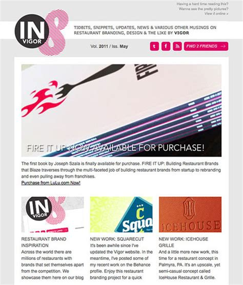 design inspiration email 25 beautiful html email newsletter designs web graphic