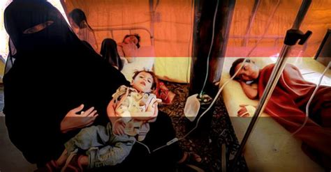 Worst Recorded Cholera Epidemic In Yemen Is Now Worst Recorded In