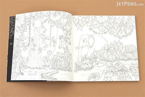 magical jungle an inky magical jungle an inky expedition coloring book basford jetpens com