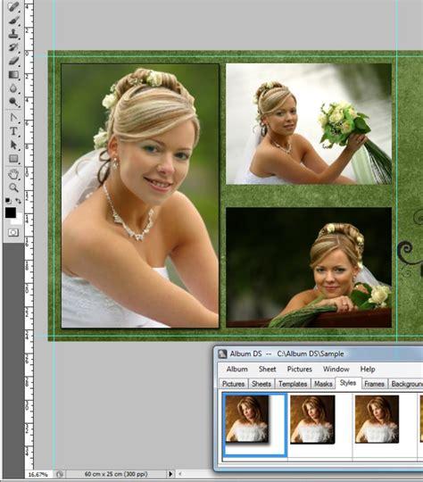 album ds templates tutorials album ds album design software