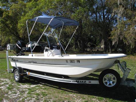 mako flats boat used flats mako boats for sale boats