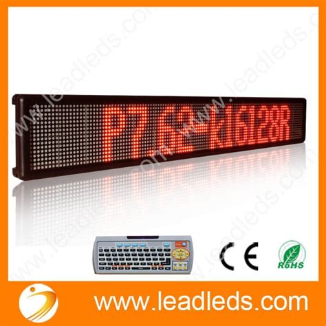 Panel Running Text Newest Remote Two Lines Running Text Led Display