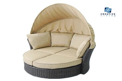 Freeshipping Creative Pumpkin Rattan Chair Creative Living Antigua All Weather Outdoor Mahogany