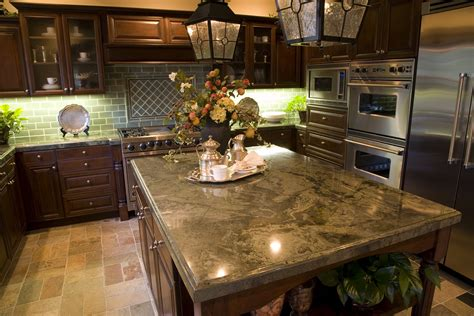the granite countertop trends modern kitchens