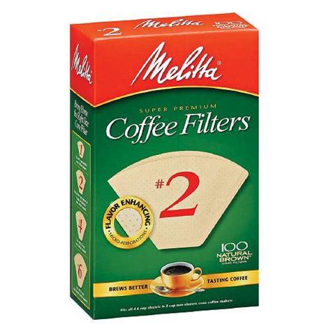 Melitta Coffee Filters ? #2   Carolina Coffee Roasting Company