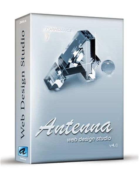 antenna web design studio 4 0 version software key free