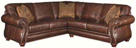 2 piece leather sectional sofa traditional leather sectional sofa www gradschoolfairs com