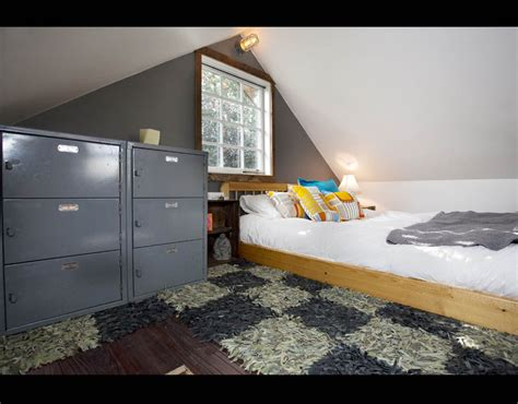 airbnb tiny house oregon the bedroon view of the the rustic modern tiny house in