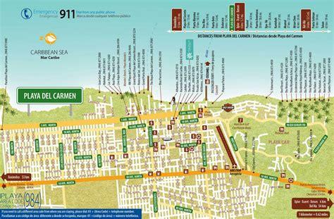 printable map playa del carmen large playa del carmen maps for free download and print