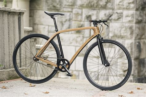 Handmade Bicycle - tratar bikes debut beautiful handmade wooden bicycles on