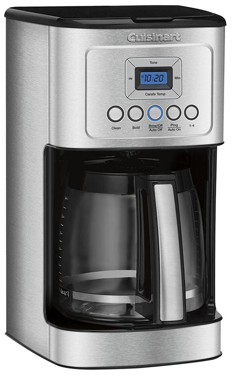 cuisinart dcc   cup glass carafe  stainless