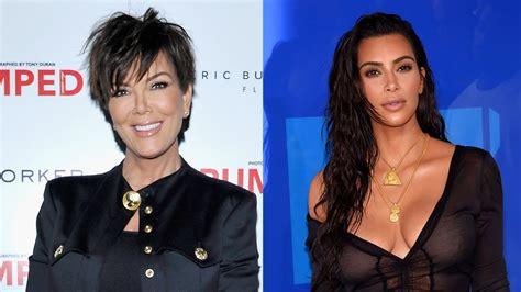 see all the kardashian jenners with long vs short hair kris jenner calls kim kardashian sex tape leak horrific