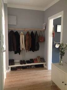garderobe basteln diy garderobe aus einem ast interior of my future home