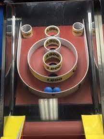 skee ball 2 balls stuck in skeeball machine mildlyinteresting