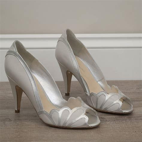 Peep Toe Shoes From Tuk by Wedding Peep Toe Shoes Isabelle By