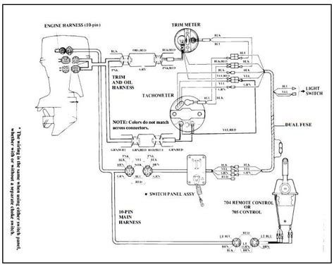 mercury tachometer wiring harness diagram mercury outboard wiring diagram 1967 ford alternator