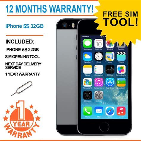 iphone 9 unlocked apple iphone 5s 32gb factory unlocked space grey ebay