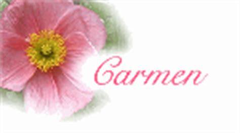 imagenes de el nombre carmen nombre animado carmen