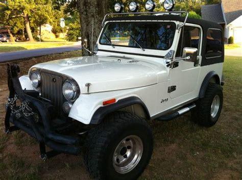 used 2 door jeep buy used 1982 jeep cj7 limited sport utility 2 door 4 2l