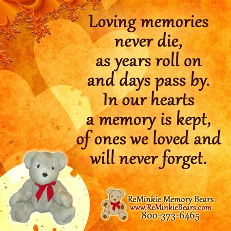 memorial quotes archives reminkie memory bears custom