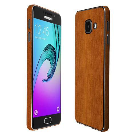 Samsung A3 2016 Mikuu Custom skinomi techskin samsung galaxy a3 2016 light wood