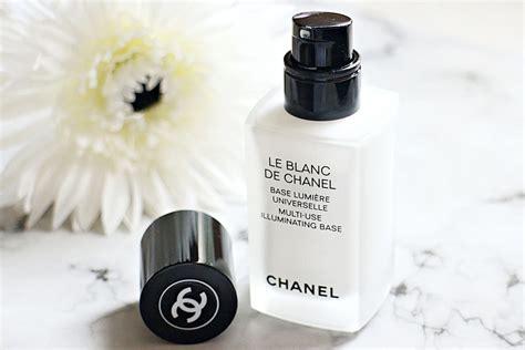 Le Blanc De Chanel Primer le blanc de chanel illuminating base review