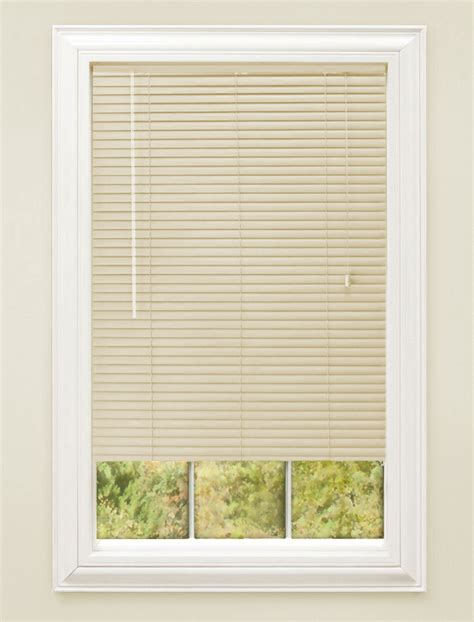 Mini Blinds Window Treatments by Window Blinds Mini Blind 1 Quot Slat Vinyl Venetian Blinds
