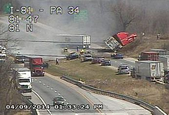 two dead in i 81 crash, traffic backed up for hours | the