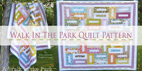 quilt pattern a walk in the park 10 free jelly roll quilt patterns