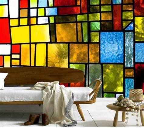 glass wall murals aliexpress buy custom large murals retro texture glass wallpaper papel de parede
