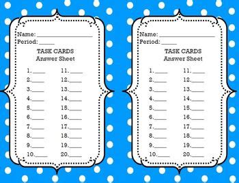 Task Card Template Pdf by Task Cards Template Editable Savable Pdf By Ms Nylak Tpt