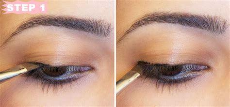 eyeliner tutorial thin tutorial winged eyeliner step by step