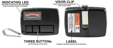 crusader garage door opener overhead garage door crusader 3 button remote 109130 3903