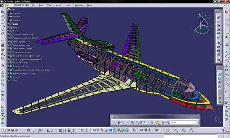 catia v5 structure design 123vid falcon 7x catia model alexander sytchenko flickr