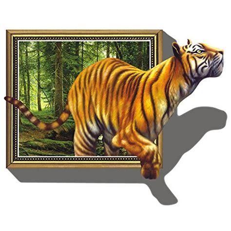 3d wandtattoo schlafzimmer wandtattoo tiger liegend oder laufend