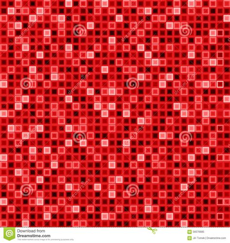 color pattern red seamless abstract pattern with squares in red color