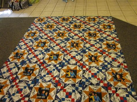 Trek Quilt by 1000 Images About Trek Quilting On Free Pattern Quilt And Spock