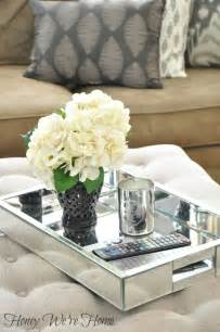 decorative trays for coffee tables best 25 ottoman tray ideas on trays twine